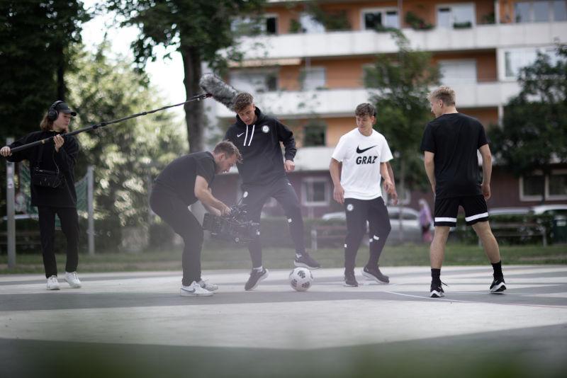 Projekt Sturm Graz Nike - Achromatic Studios